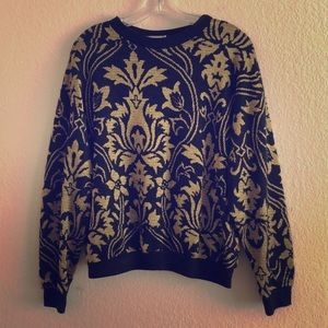 Vintage Damask Sweater